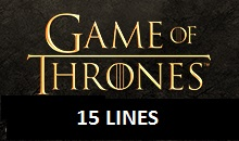 Game of Thrones 15 Lines